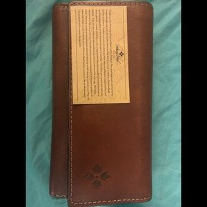Authentic Patricia Nash Italian Leather Wallet